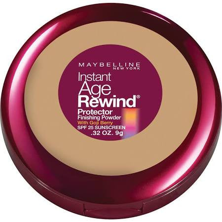 Maybelline New York Instant Age Rewind Protector Finishing Powder, 50 Natural Beige - ADDROS.COM