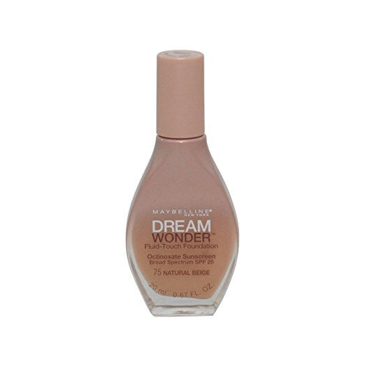 Maybelline Dream Wonder Fluid-Touch Foundation, Natural Beige 75