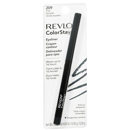 Revlon ColorStay Eyeliner with Sharpener - 209 Teal - ADDROS.COM