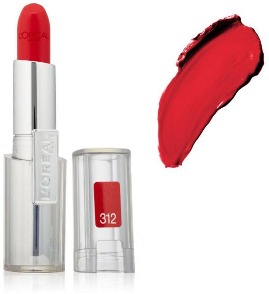 L'OREAL Paris Infallible Le Rouge Lipcolor, Ravishing Red 312