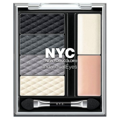 New York Color Individual Eyes Shadow Compact, 944 Smokey Charcoals - ADDROS.COM