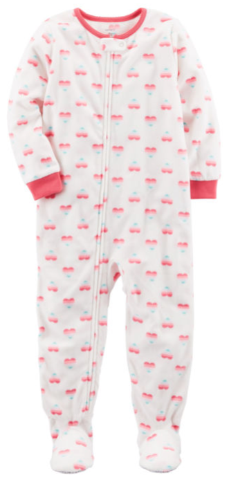 Carter's Long Sleeve One Piece Pajama-Toddler Girls (6M-5T)