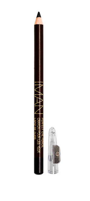 IMAN COSMETICS Perfect Eye Pencil - Black Shimmer