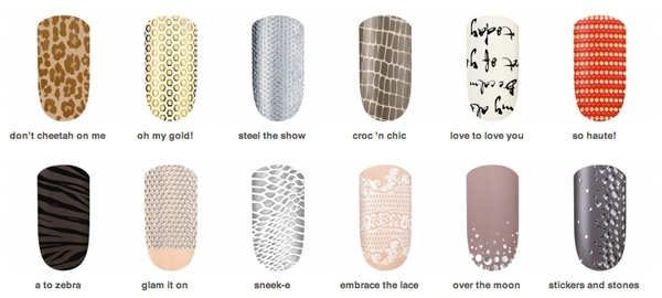 Essie Sleek Stick Nail Applique - stickers & stone 090 (1 kit) - ADDROS.COM