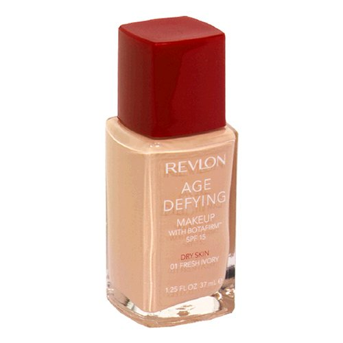 Revlon Age Defying Makeup with Botafirm, Dry Skin, Fresh Ivory 01 - ADDROS.COM