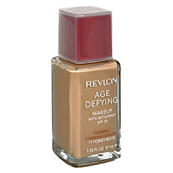 REVLON Age Defying Makeup with Botafirm, SPF 20, Normal/Combination Skin, HONEY Beige 11, 1.25-Ounce - ADDROS.COM