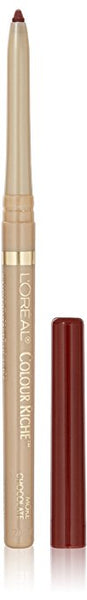 L'OREAL Paris Colour Riche Lipliner, More Chocolate, 0.007 oz - ADDROS.COM