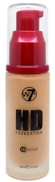 W7 COSMETICS High Definition (12 Hour) Foundation