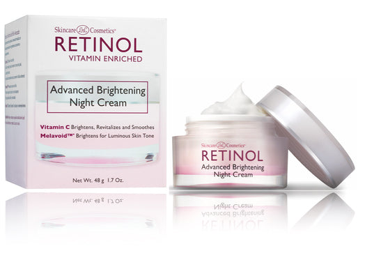 RETINOL Advanced Brightening Night Cream, 1.7 Oz. 48g - ADDROS.COM