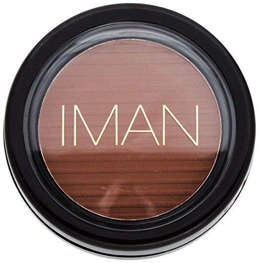 IMAN COSMETICS Blushing Powder, Sable, (3g) 0.11oz