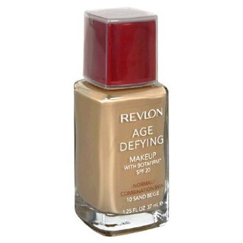 REVLON Age Defying Makeup with Botafirm, SPF 20, Normal/Combination Skin, Sand Beige 10, 1.25-Ounce - ADDROS.COM
