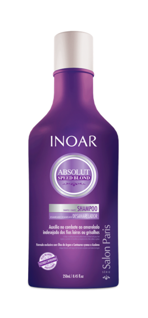 INOAR Absolut Speed Blond Shampoo - 8.45 fl Oz (250 ml)