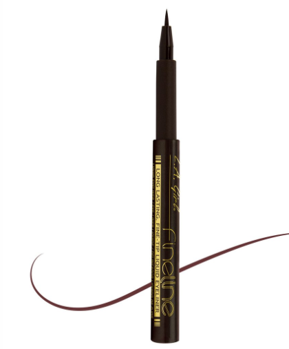 L.A. Girl Fineline Eyeliner- GLE719 Dark Brown - ADDROS.COM