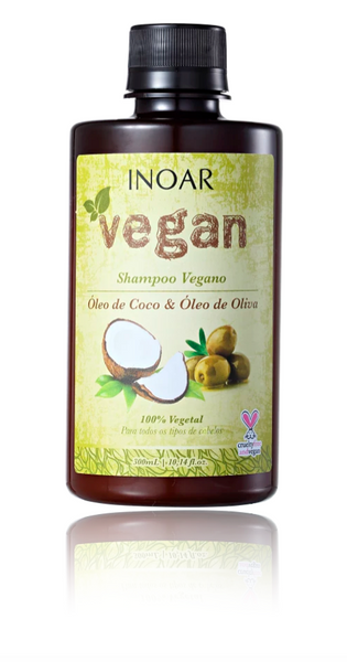 INOAR  Vegan - Shampoo, 300 ml (10.14 fl Oz) - ADDROS.COM
