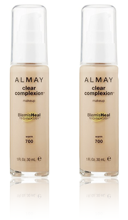 ALMAY Clear Complexion Makeup- Warm 700 (Pack Of 2)