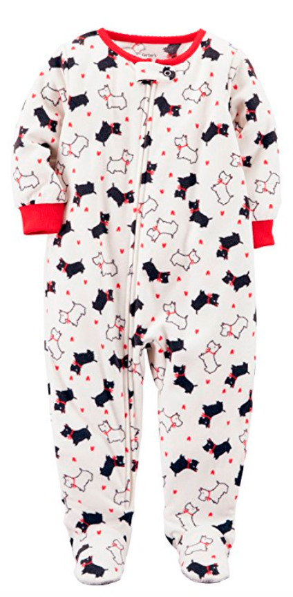 Carter's Long Sleeve One Piece Pajama-Baby Girls (1-Piece)