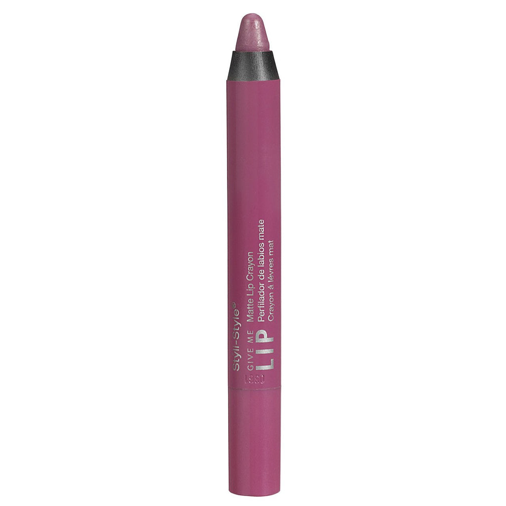 Styli-Style Cosmetics Make It Matte - Creamy Matte Lip Crayon - Soft Shock - ADDROS.COM