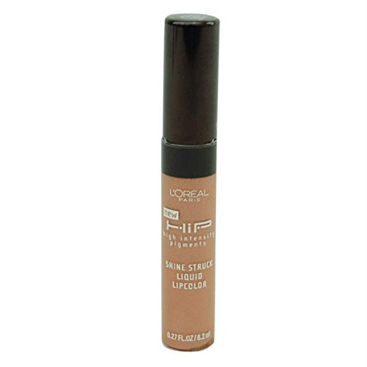 L'OREAL HIP Shine Struck Liquid Lipcolor, 160 Splendid - ADDROS.COM