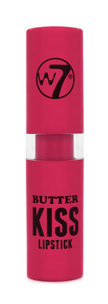 W7 COSMETICS Butter Kiss Lipstick - 0.10 Oz (3g) - ADDROS.COM