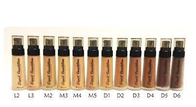 BH Cosmetics Liquid Foundation - ADDROS.COM