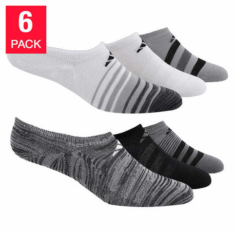 ADIDAS Women's Superlite Climate Socks - Black (6 Pairs)