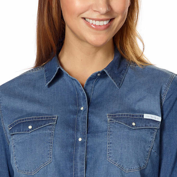 Calvin Klein Jeans Ladies' Denim Shirt