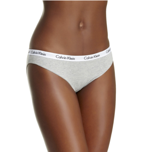 Calvin Klein Ladies' Cotton Bikini Brief Panties Underwear (3 Pack)