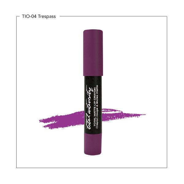 PRESTIGE COSMETICS Total Intensity Total Matte Lip Crayon - 0.36 fl oz (10.5 ml) - ADDROS.COM