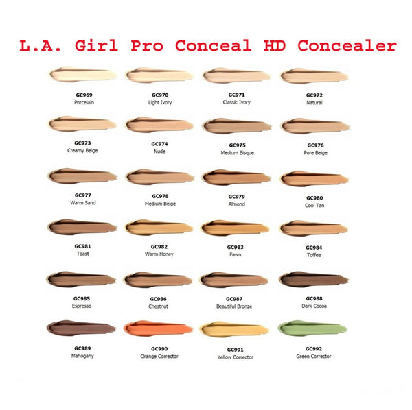 L.A. Girl HD Pro Concealer - Yellow Corrector (GC991) - ADDROS.COM