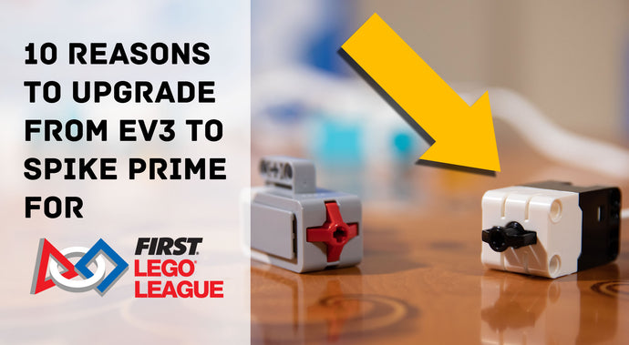 How does SPIKE Prime and EV3 compare?