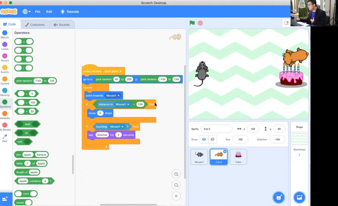Term 2 Webinars: Coding With Scratch 3.0