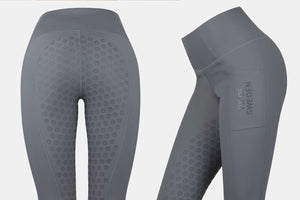 PS of Sweden 'Jasmine' Riding Tights - Charcoal