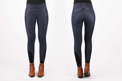 PS of Sweden 'Marthe' Denim Breggings - Ladies