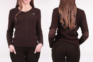 PS of Sweden LIMITED EDITION 'Kate' Sweater - Chocolate