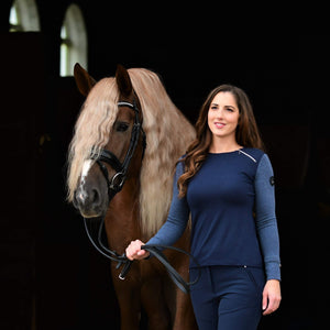 Saltaire Equestrian Technical Long Sleeve - Lightweight