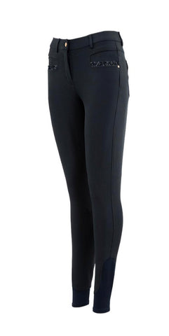BR 'Raven' Full Seat Silicone Breeches