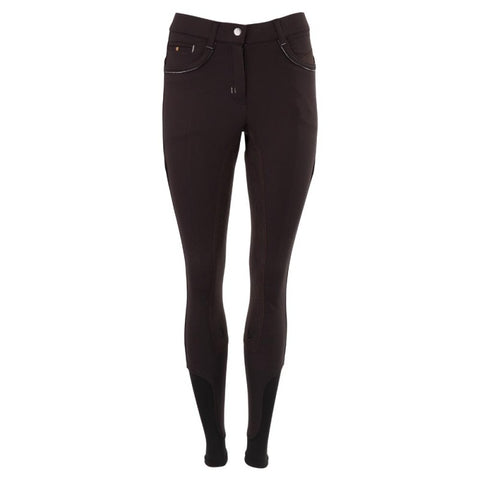 BR 'Hanna' Breeches with 3/4 Microfibre seat - Ladies