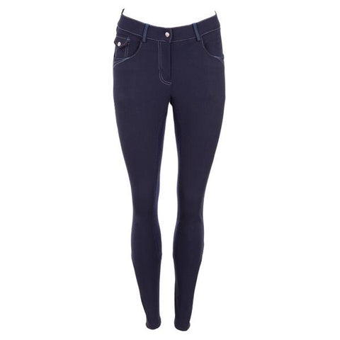 'BRPS' Evita 3/4 Microfibre Seat Breeches - Ladies