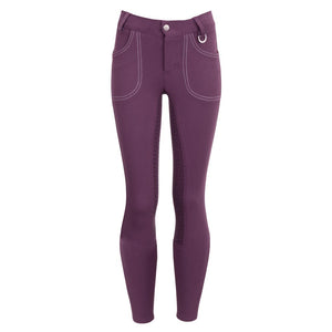 BR 'Rhea' Riding Breeches, 3/4 Silicone seat - Child