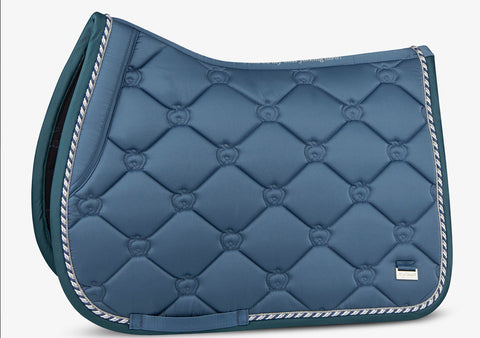 PS of Sweden Monogram Saddle Pad - Sea