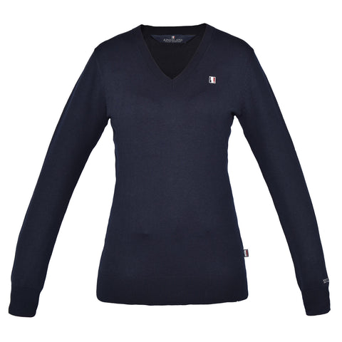 Kingsland Classic Ladies Knitted Pullover - V Neck