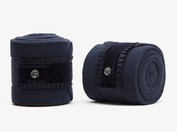 PS of Sweden 'Navy' Ruffle Polo Wraps
