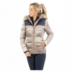 Anky Colorblock Jacket - Gold
