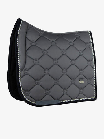 PS of Sweden Monogram 'Anthracite' Saddle Pad - Dressage