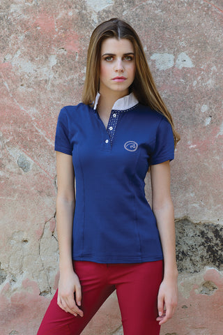 Razzapura Blue Polo - Ladies