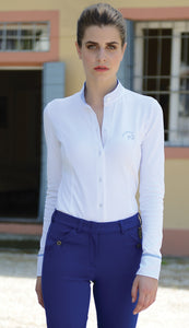 Razzapura 'Coreana' Long Sleeve Polo - Ladies