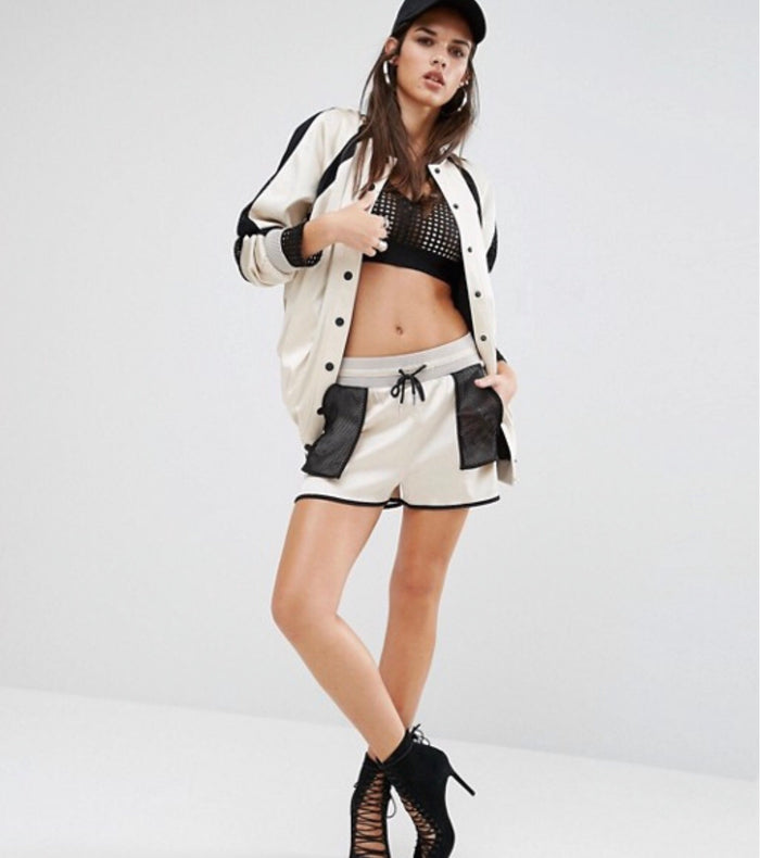 Kendall and Kylie satin shorts Pants Kendall & Kylie