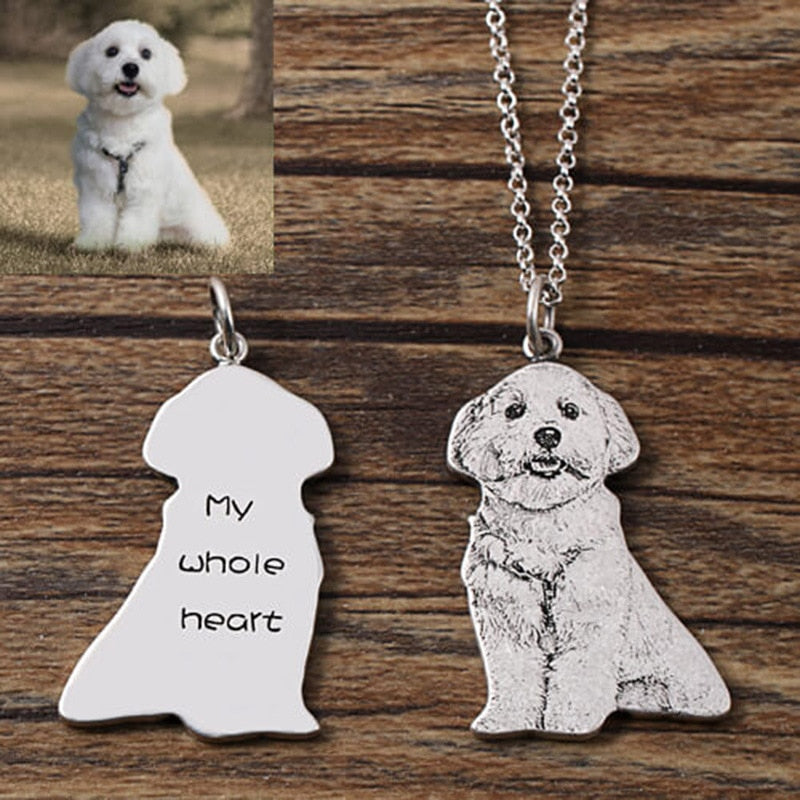 custom pet necklace