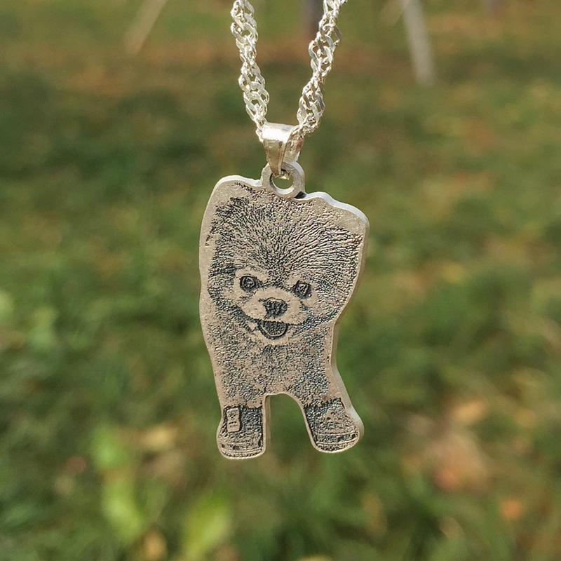 dog memorial necklace