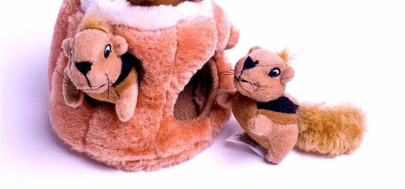 Pet Puppy Chew Squeaker Plush Sound Interactive Toys